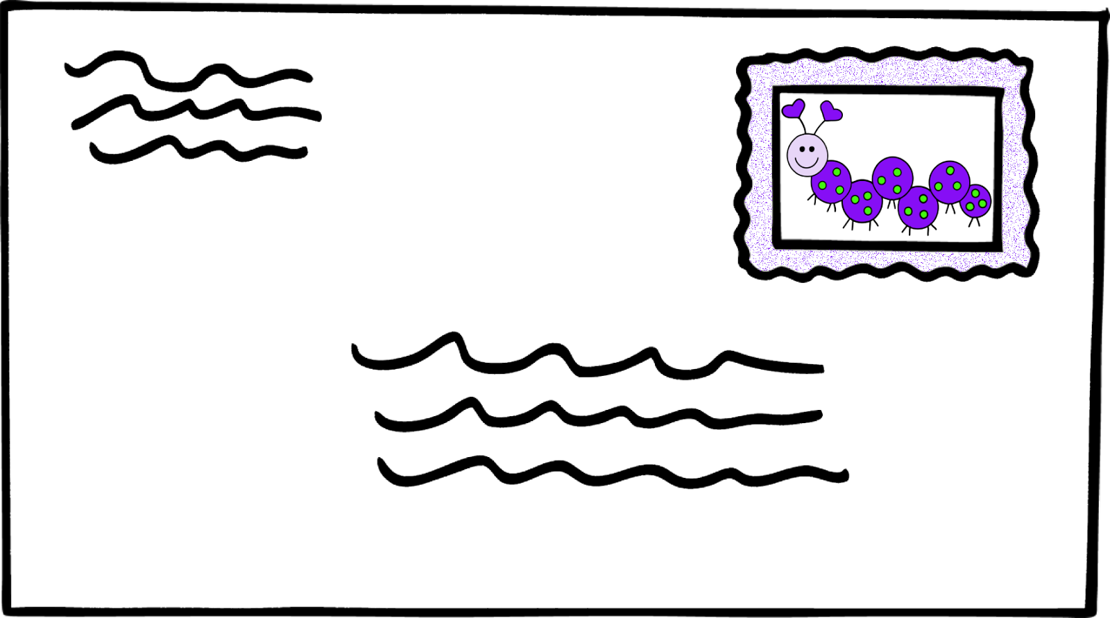 Free stamped cliparts download. Mail clipart addressed envelope