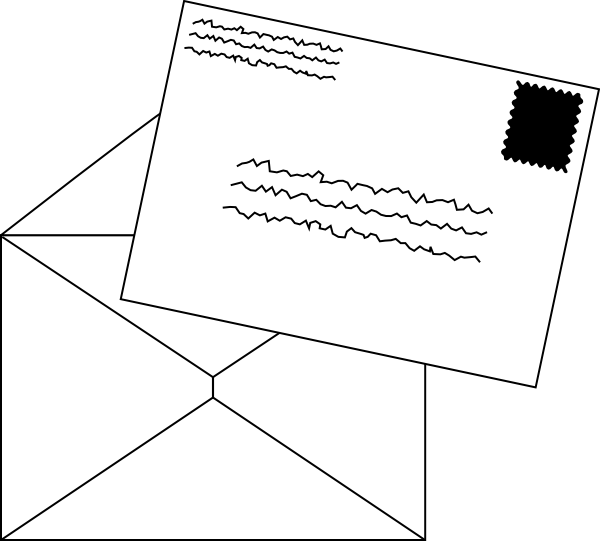 Mail clipart letter writing. Letters clip art at