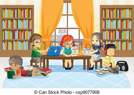 Clipart library. Free stock illustrations clip
