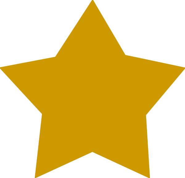 Free picture of a. Clipart star clear background
