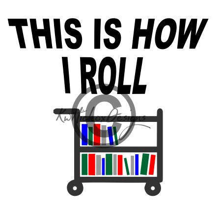 Librarian clipart book cart. Library books svg