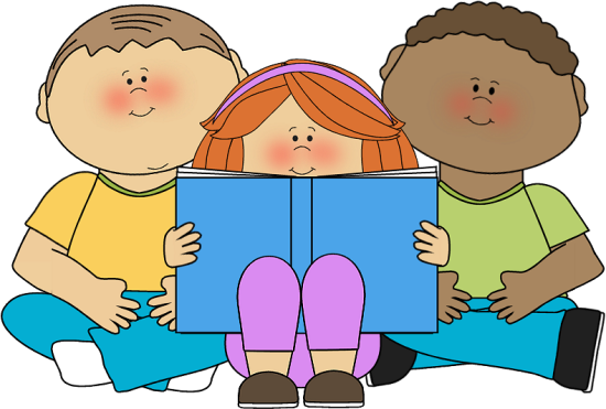 Free children books images. Clipart reading student