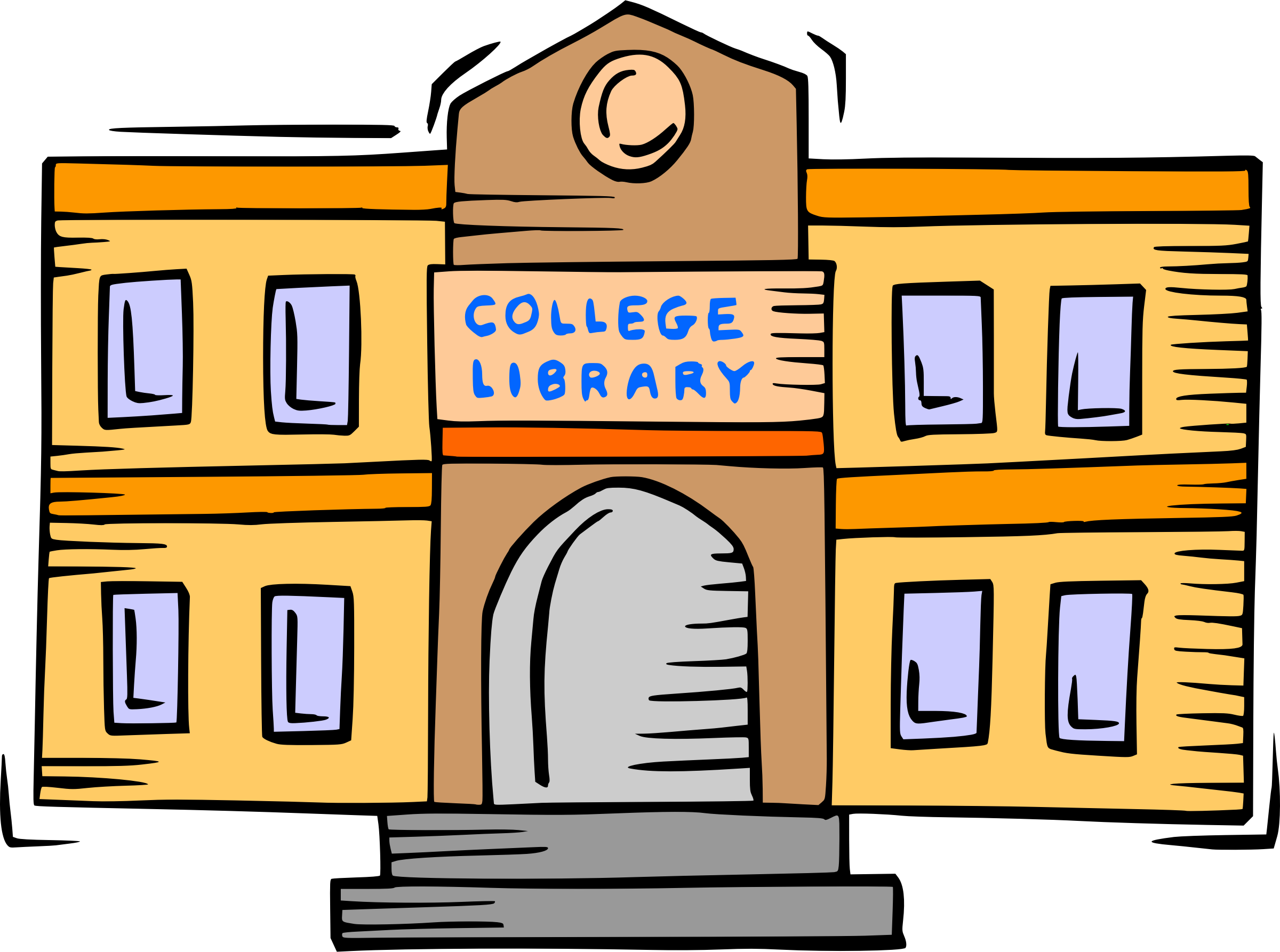 Clipart library college library. Big image png