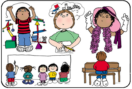 Free curriculum cliparts download. Creative clipart creative child
