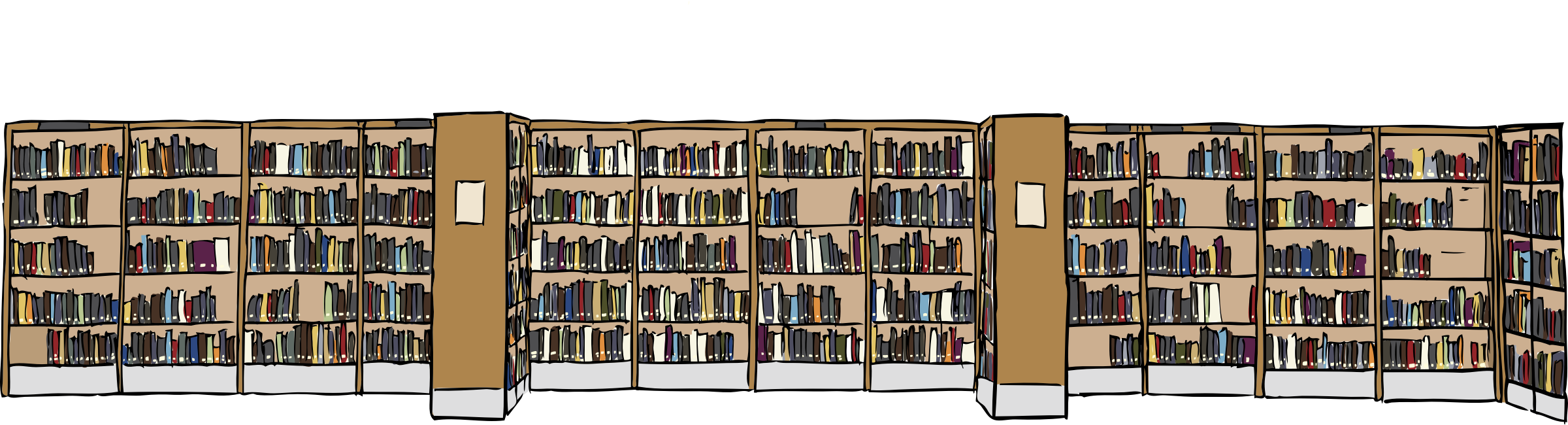 Library icons png free. Librarian clipart bookshelve