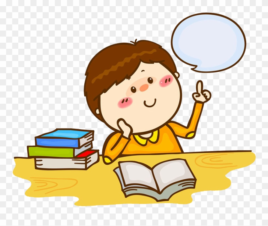 Library stock child . Clipart reading student thinking