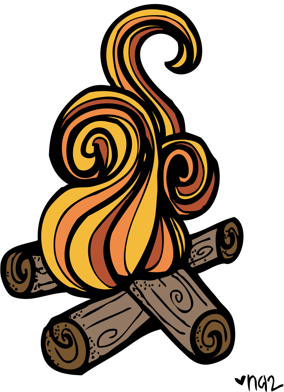 Lds clipart children's. Free camp fire download
