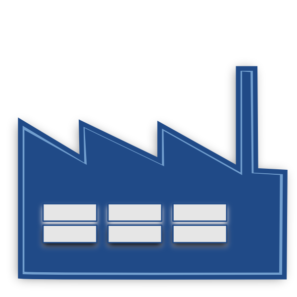 Factories clipart industrial area. Free manufacturing building cliparts