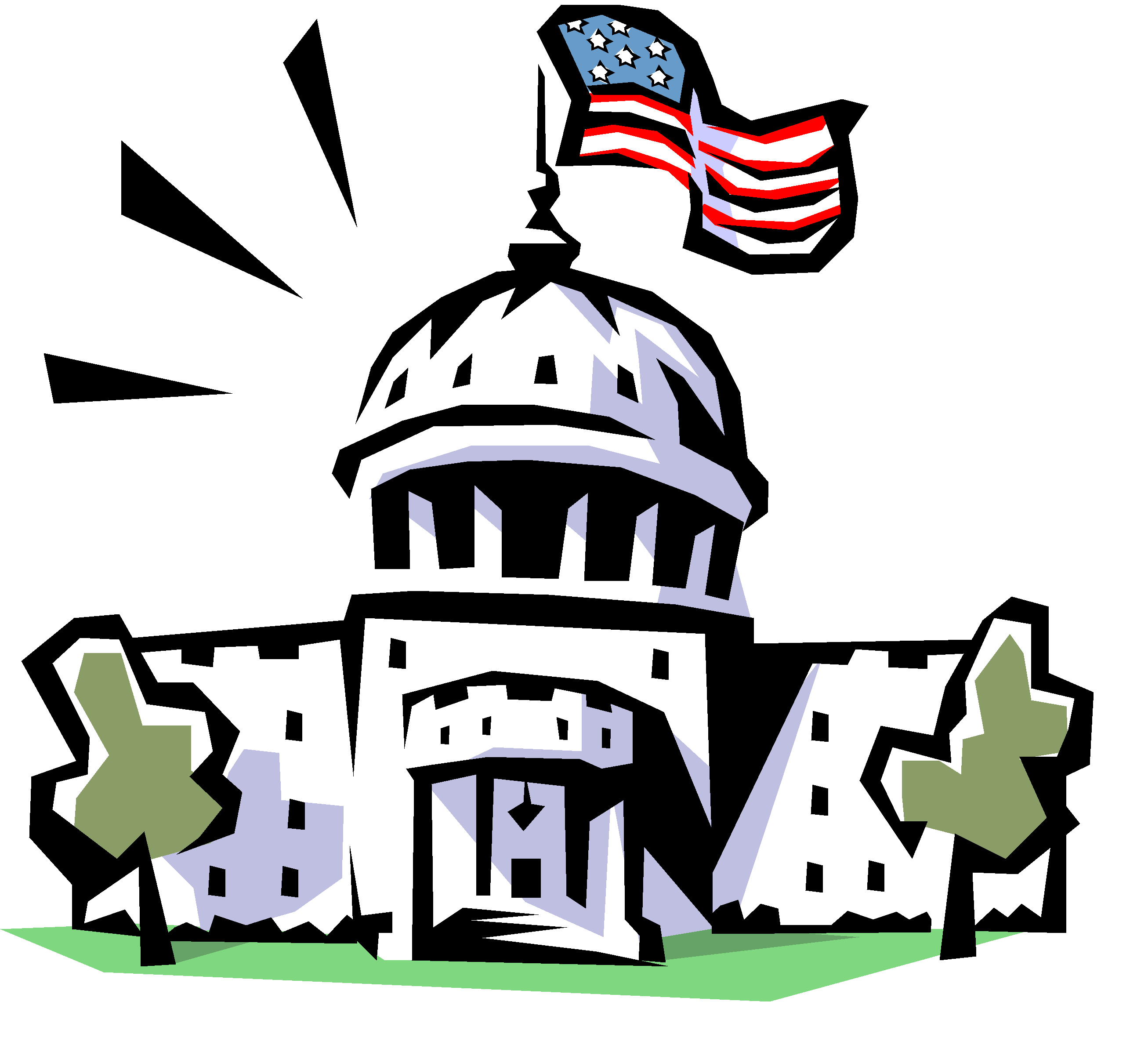 Free federal system cliparts. Politics clipart plus