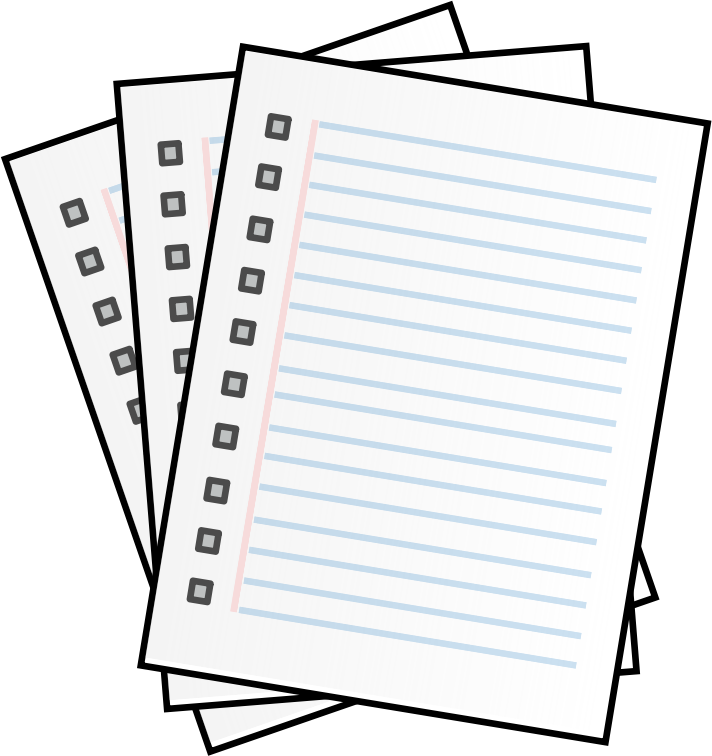 Free pages cliparts download. Document clipart transparent
