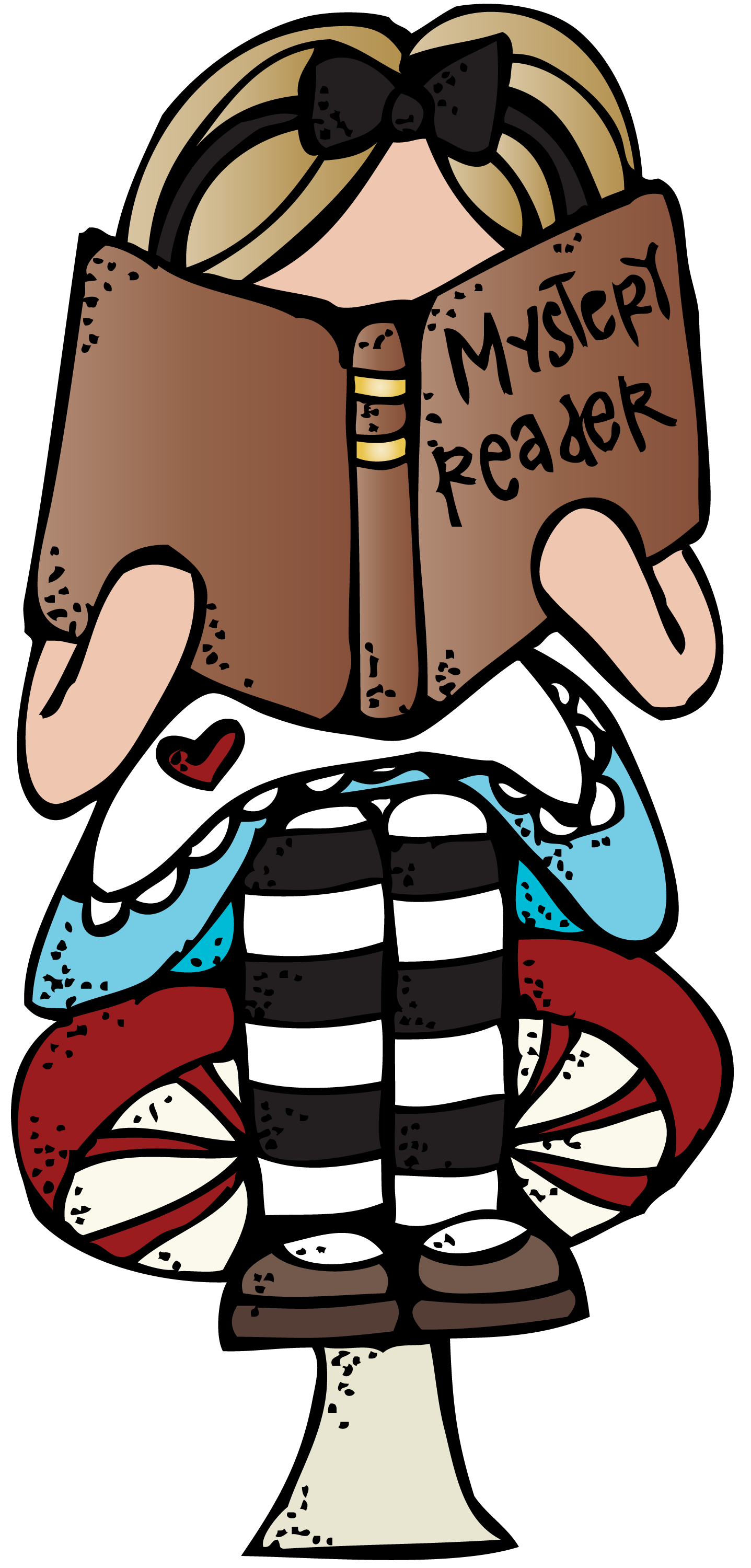 collection of reading. Melonheadz clipart book