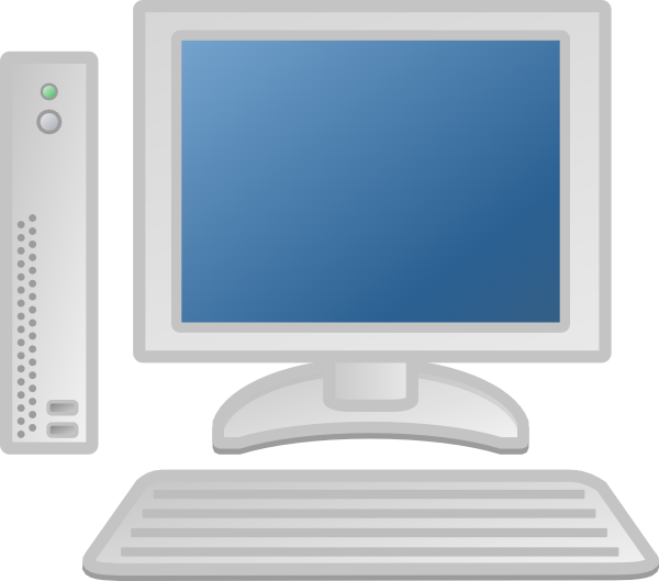 Free workstation cliparts download. Pc clipart thin client