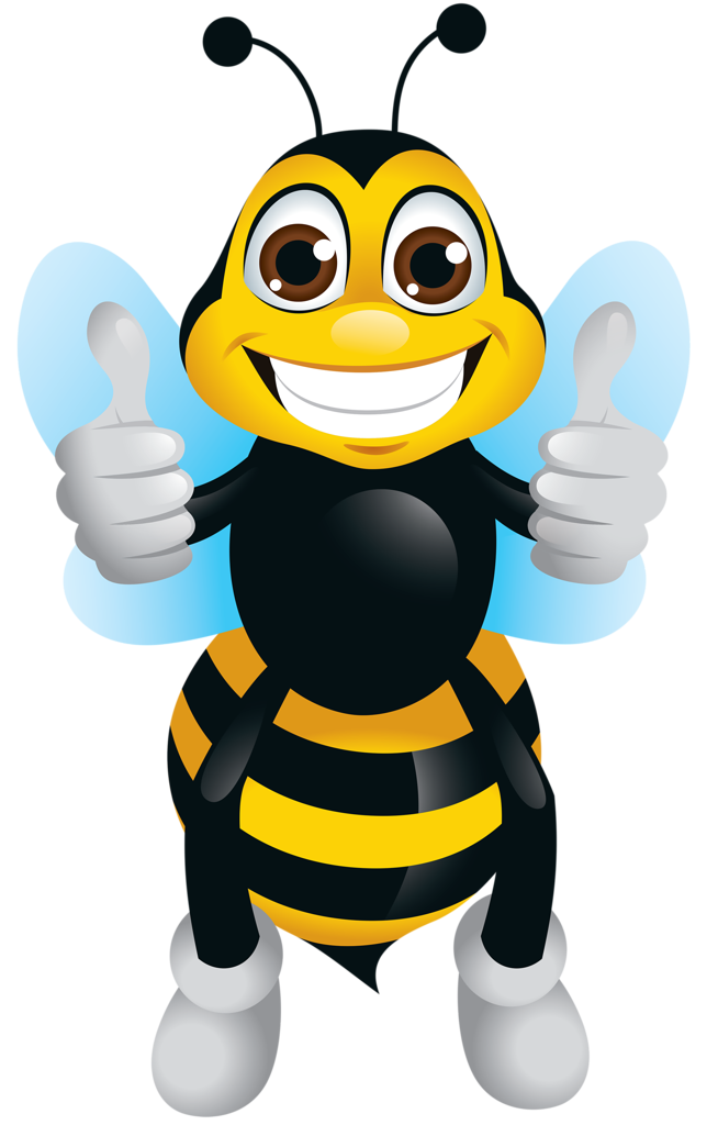 Worm clipart purple bee.  png pinterest bees