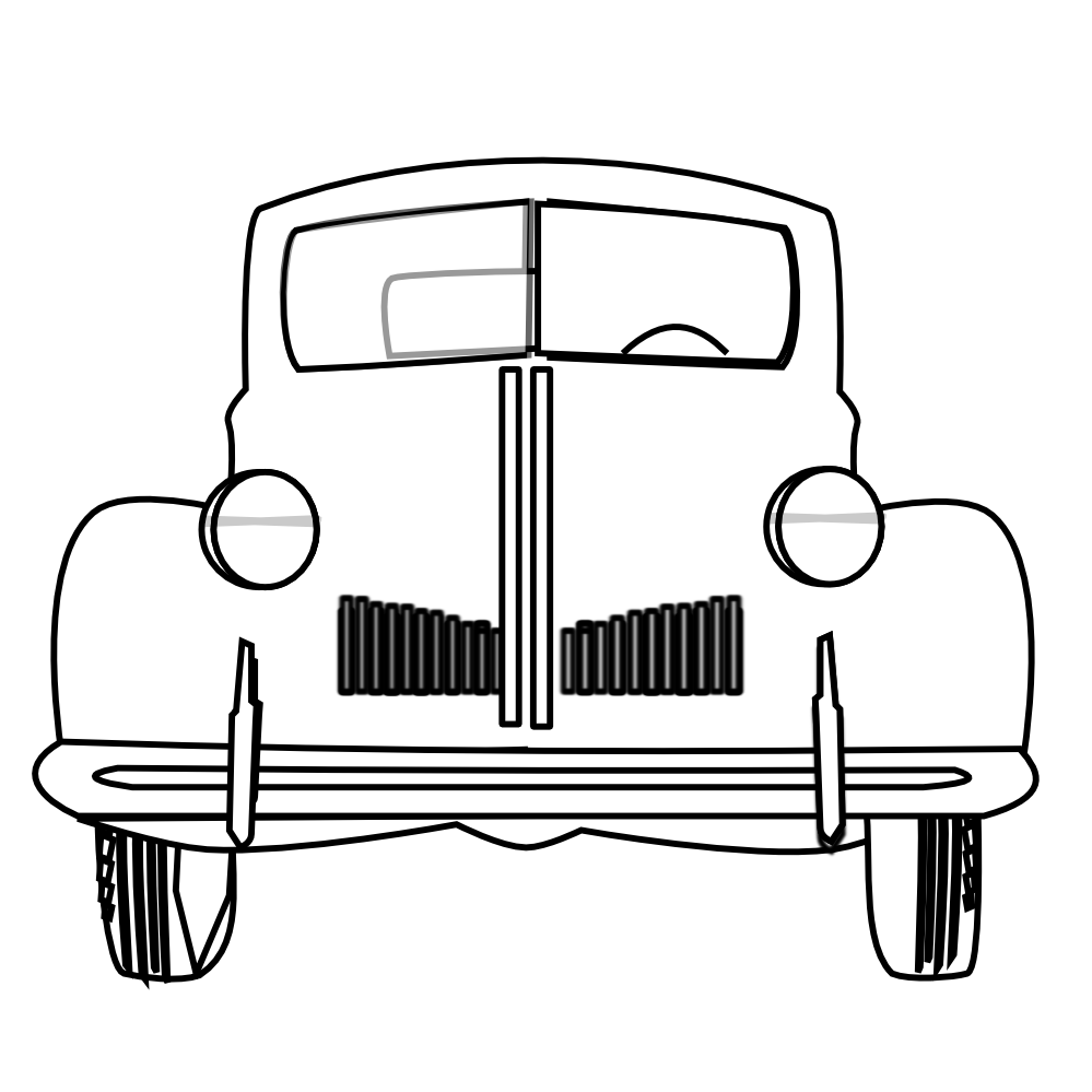 Free black and white. Mustang clipart ford vintage