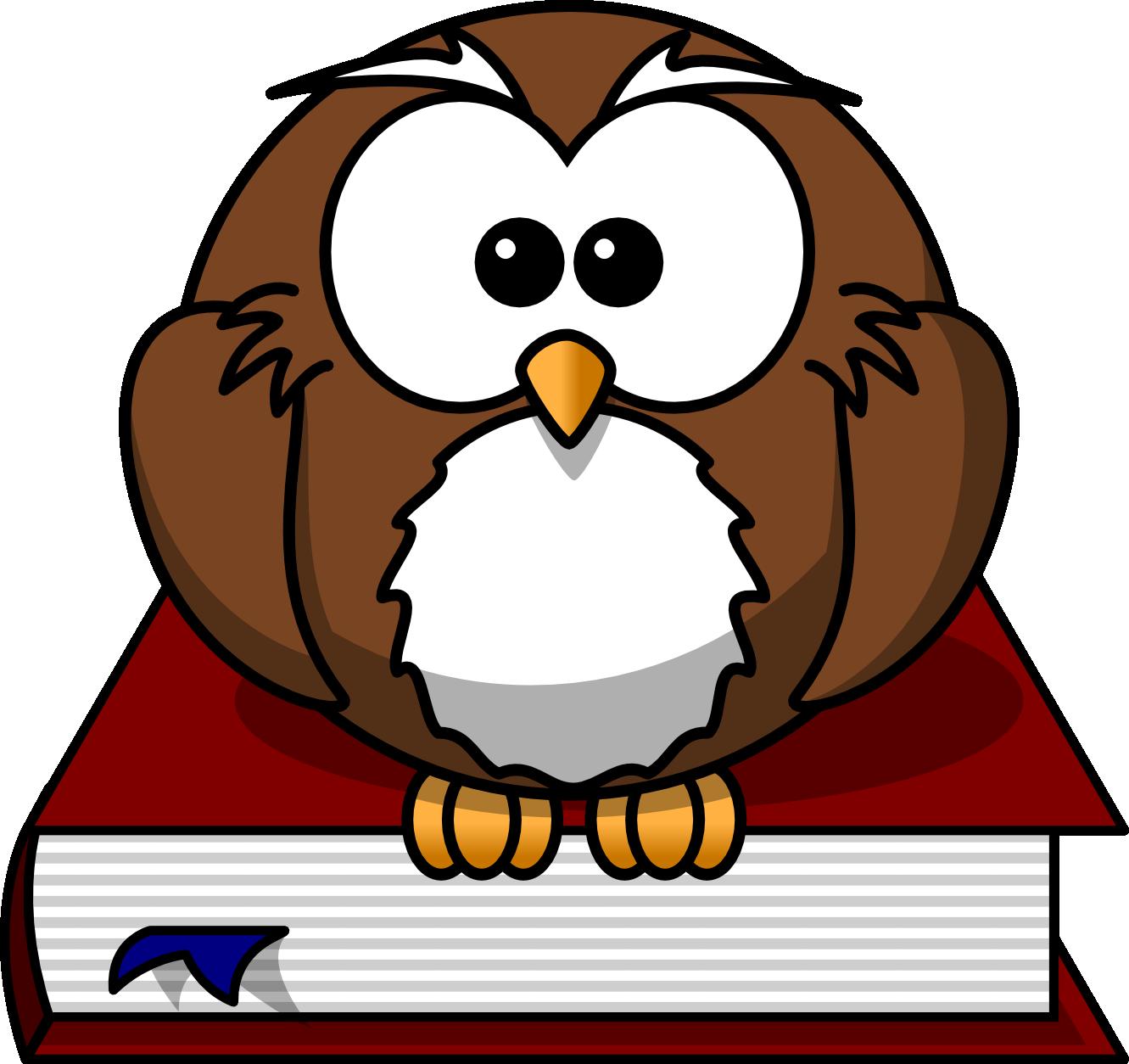Smart clipart smart owl. Free cartoon png download