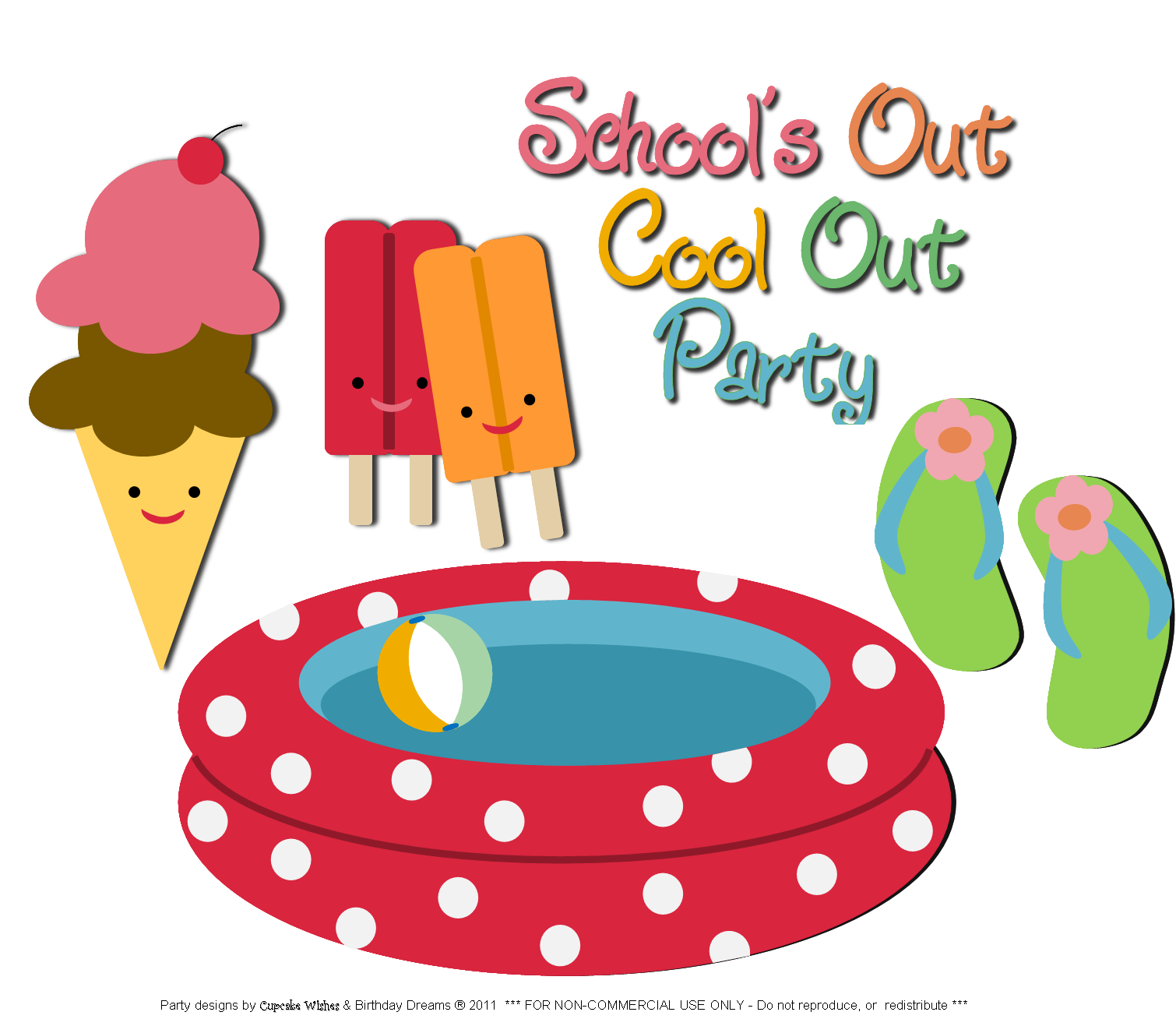 Free summer party cliparts. Swimmer clipart cartoon