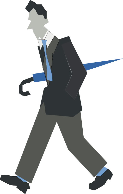 Clipart walking person. Library clip art