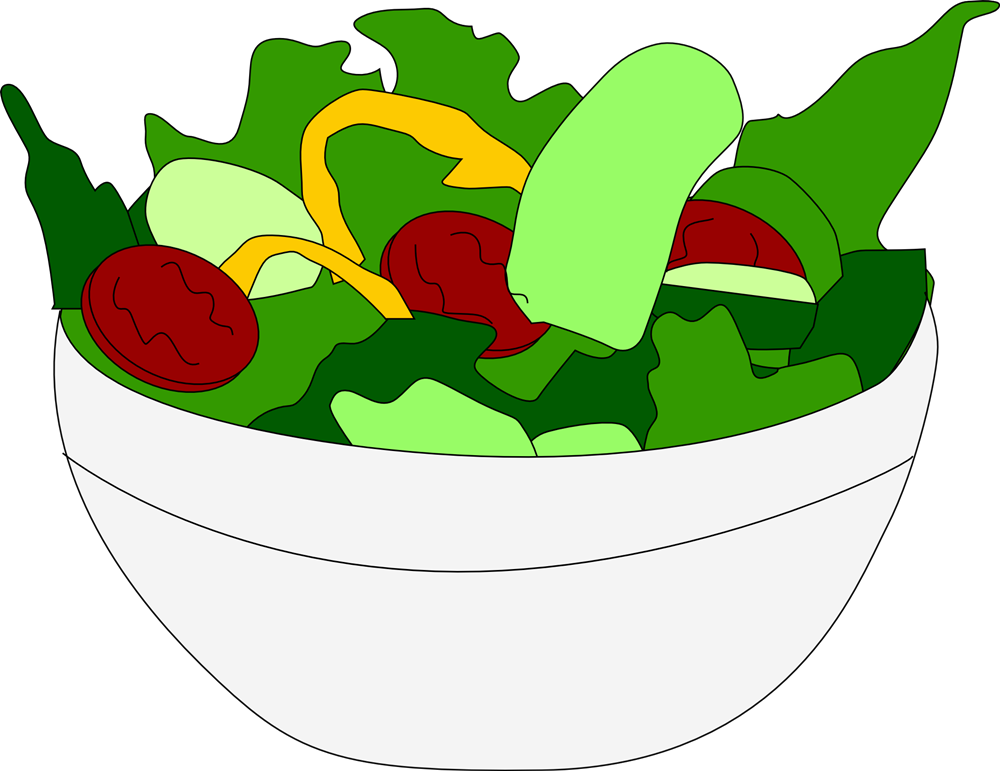 Free Salad Cliparts