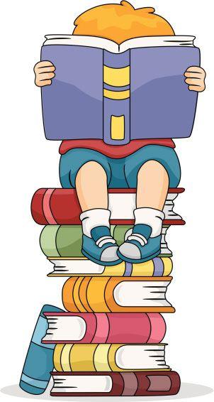 School journal goal books. Library clipart kindergarten