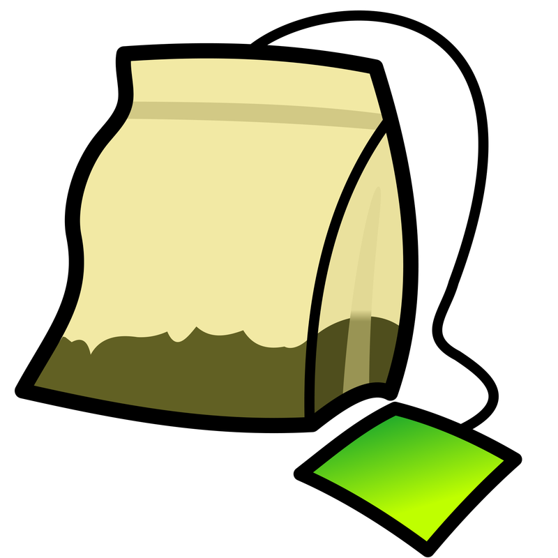Drinks clipart animated. Free tea bag cup