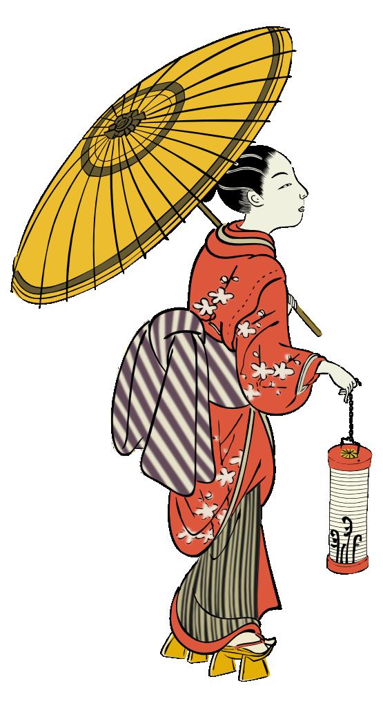 Girl stick figure library. Kawaii clipart period