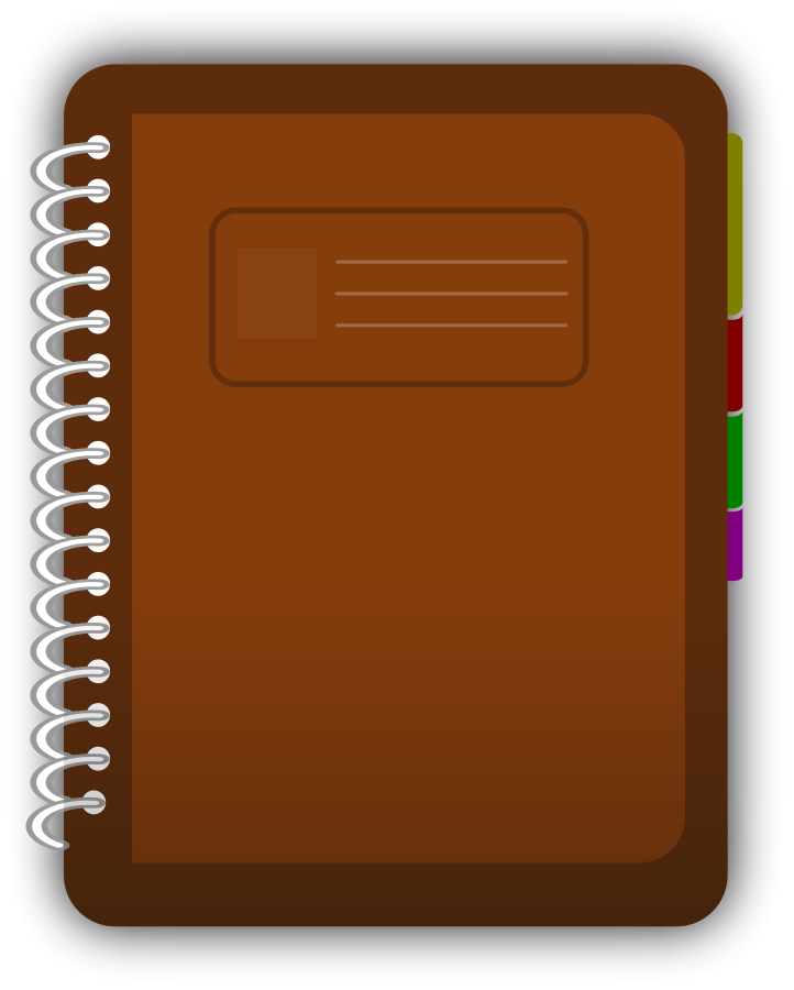 Journal clipart file. Free images for books
