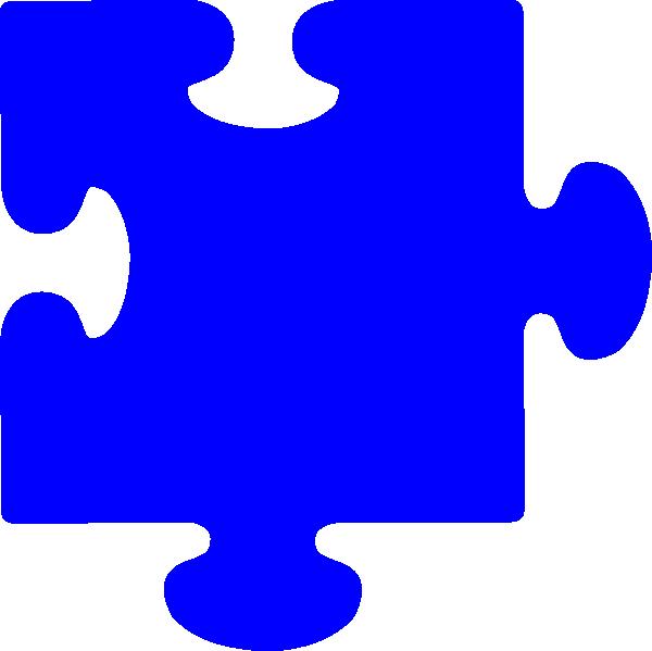 Blue piece clip art. Puzzle clipart intervention