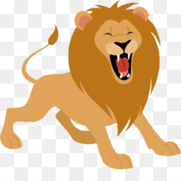 Lions clipart. Roar png and psd