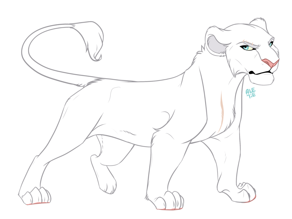 Clipart lion asiatic lion. Collete commission by ale