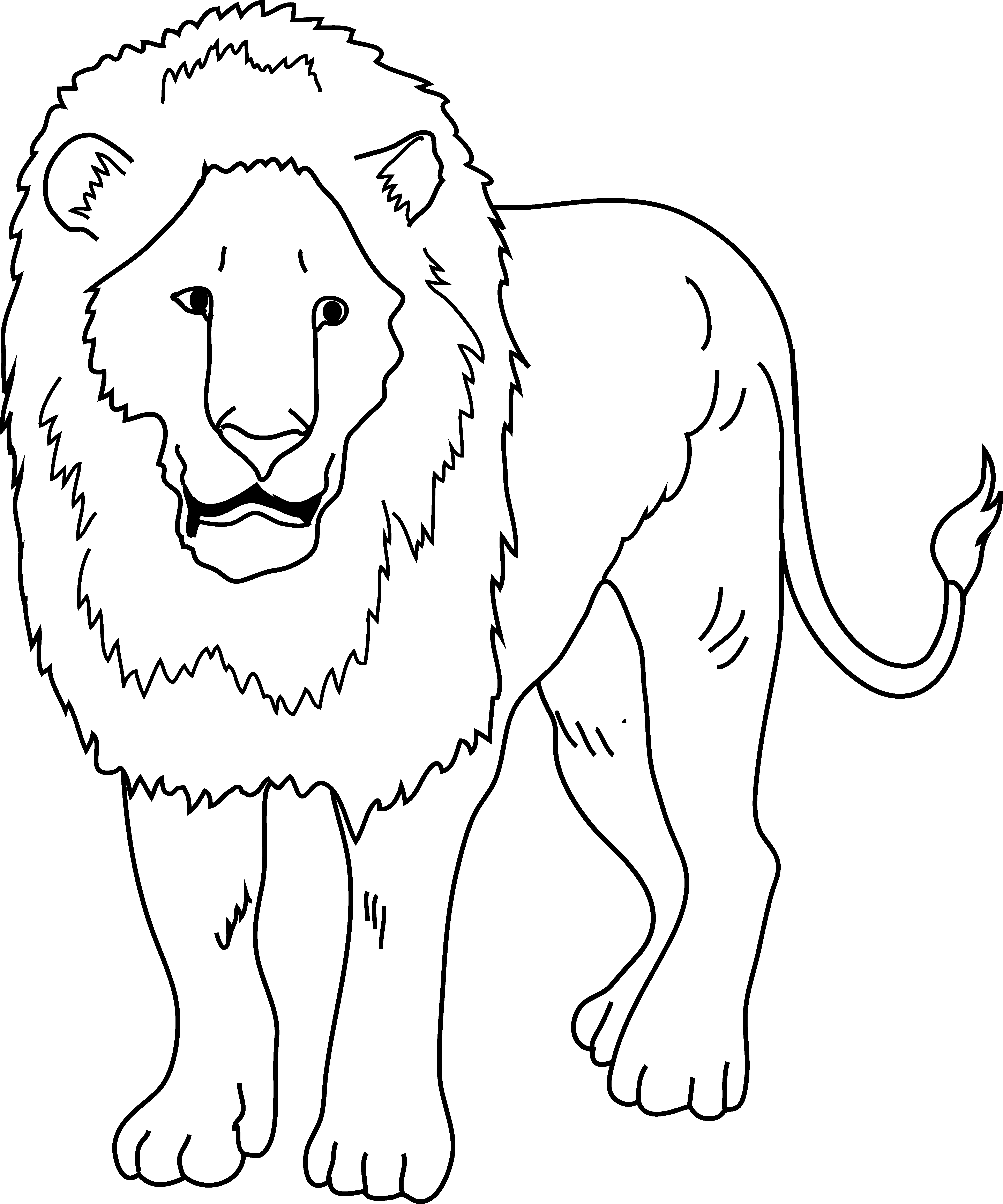 Lion Clipart Black And White Lion Black And White Transparent Free For Download On Webstockreview 2020 Outline design lion black roar wild lion over tree branch and africa continent. webstockreview
