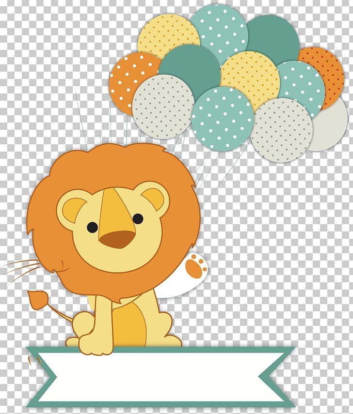 Wedding invitation infant png. Clipart lion baby shower