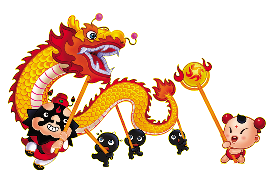 china dance dragon clipart lion chinese new year