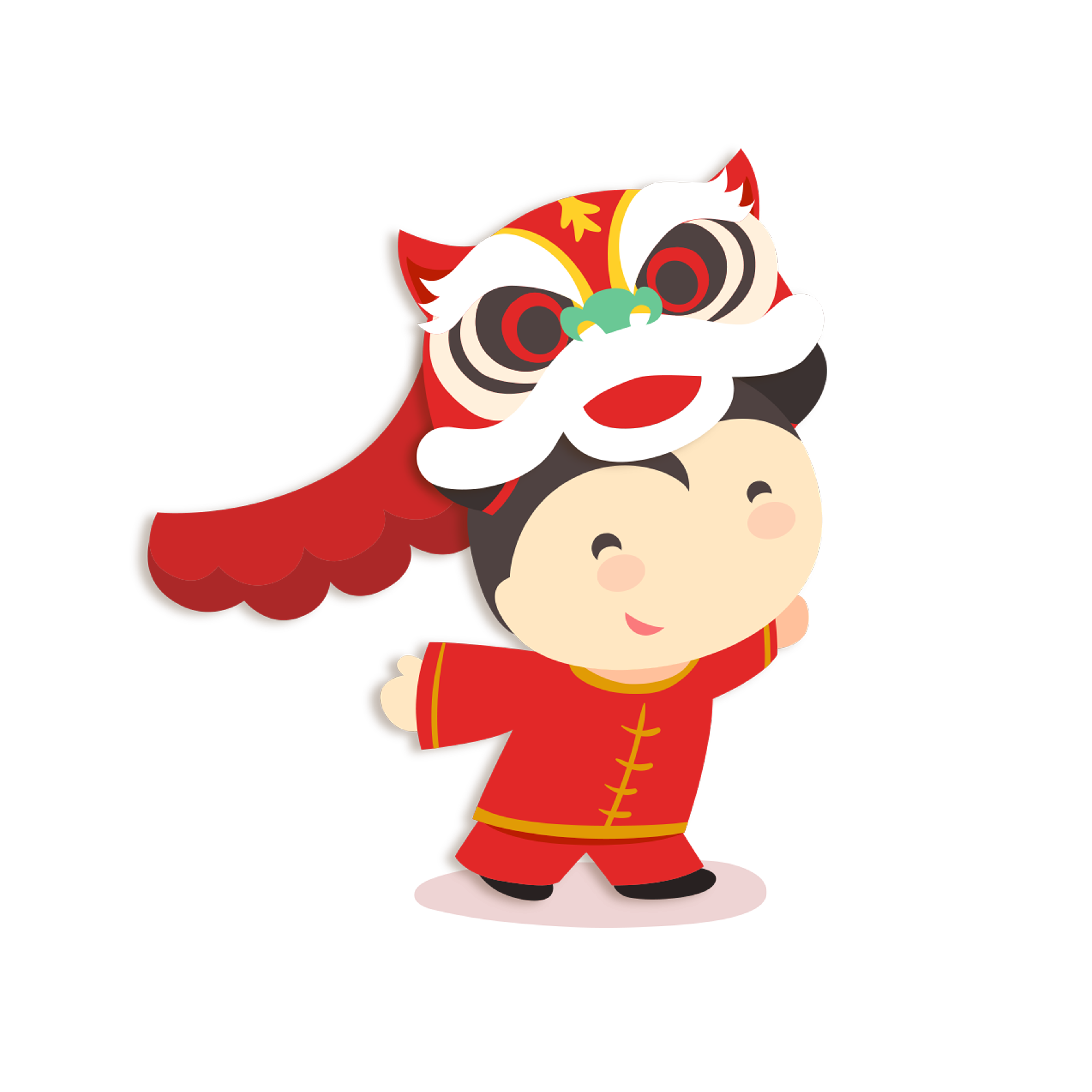 Mango clipart dancing. Chinese new year lion