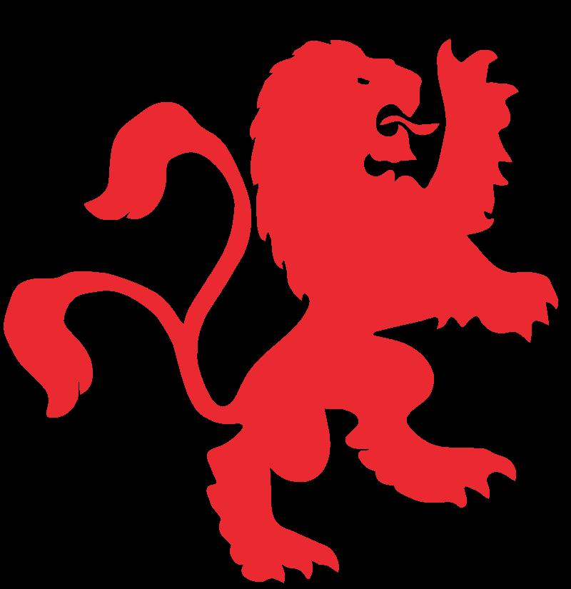clipart lion courageous