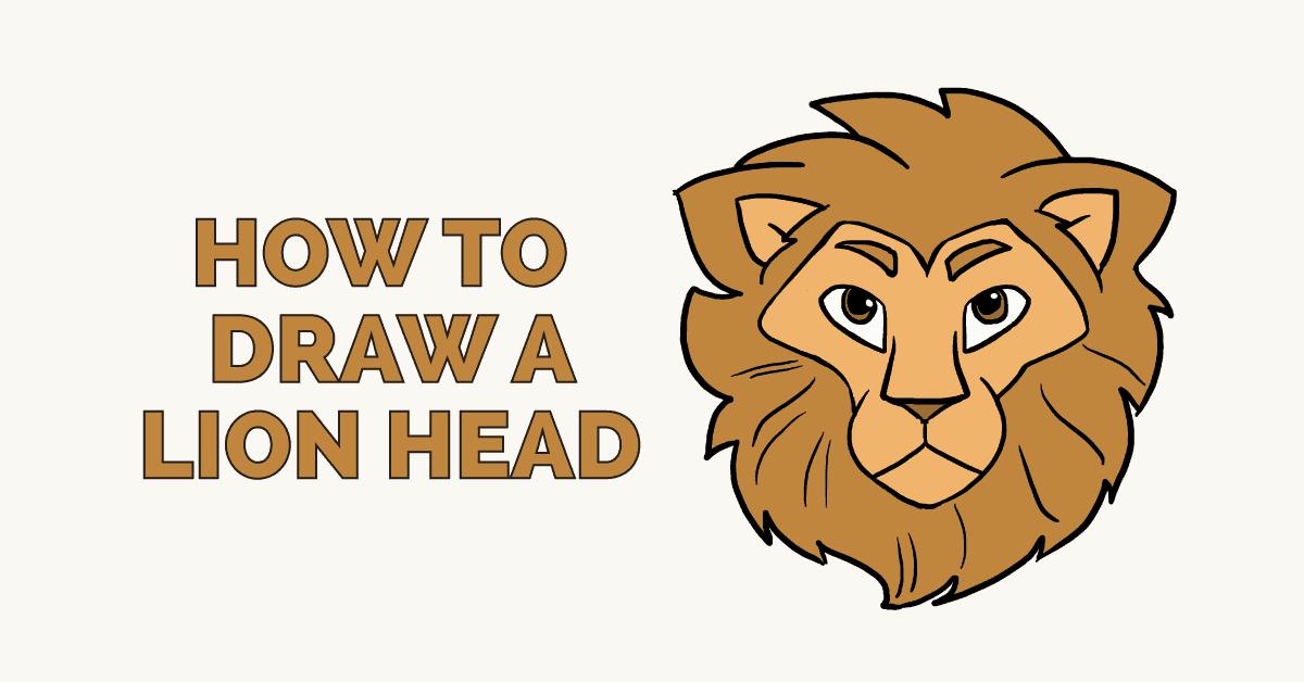Drawn x free clip. Clipart lion ear