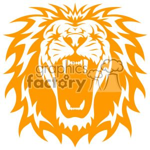 Pin on stencils . Clipart lion file