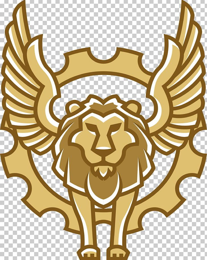 Winged png animal animals. Clipart lion flying