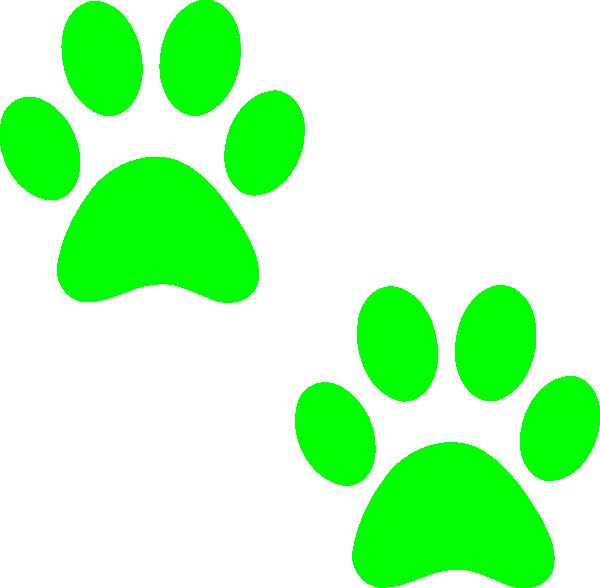 Pawprint clipart horizontal. Bulldog paw print panda