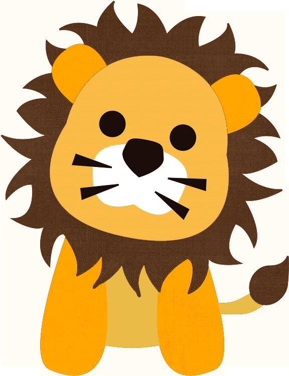 Lions clipart baby shower. Imagenes de safari para