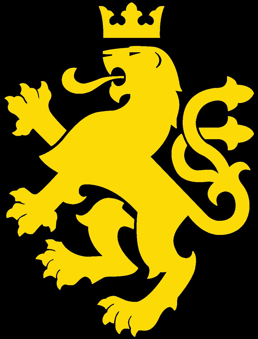 Golden logo google search. Clipart shield lion