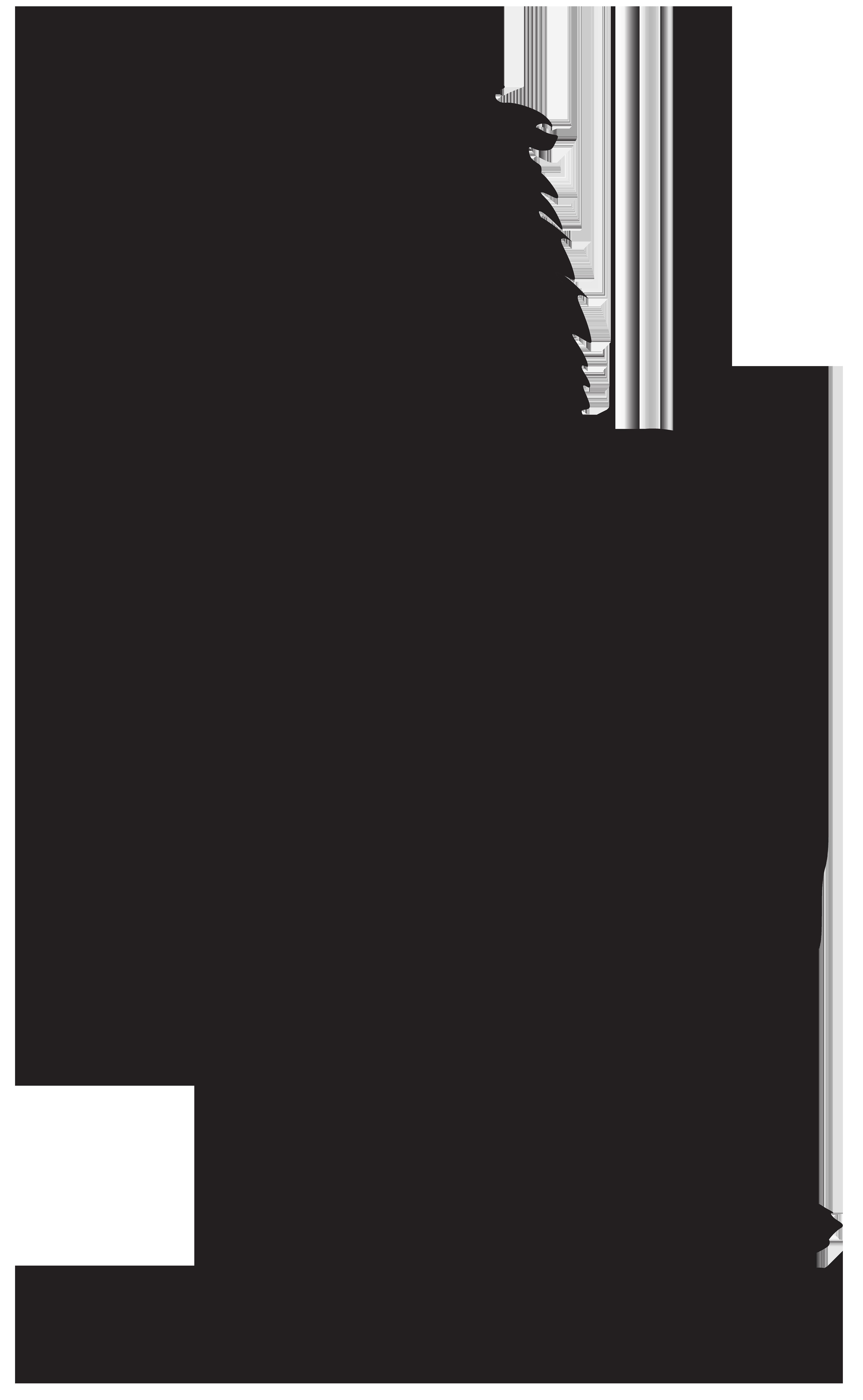Png transparent clip art. Silhouette clipart lion