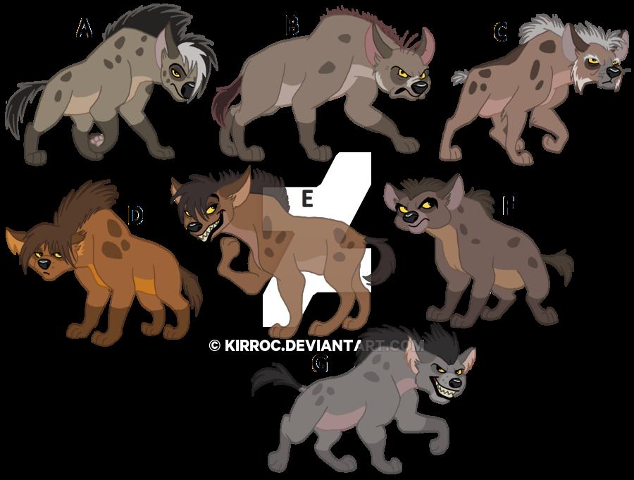 Clipart lion hyena. Hyenas of chikochi s