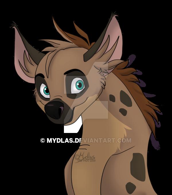 Headshot by mydlas on. Clipart lion hyena