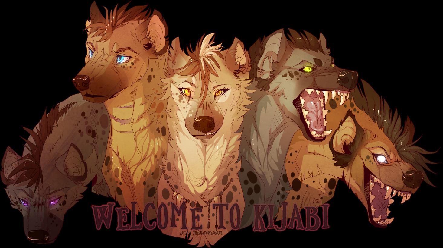 Kijabi deviantart is a. Clipart lion hyena