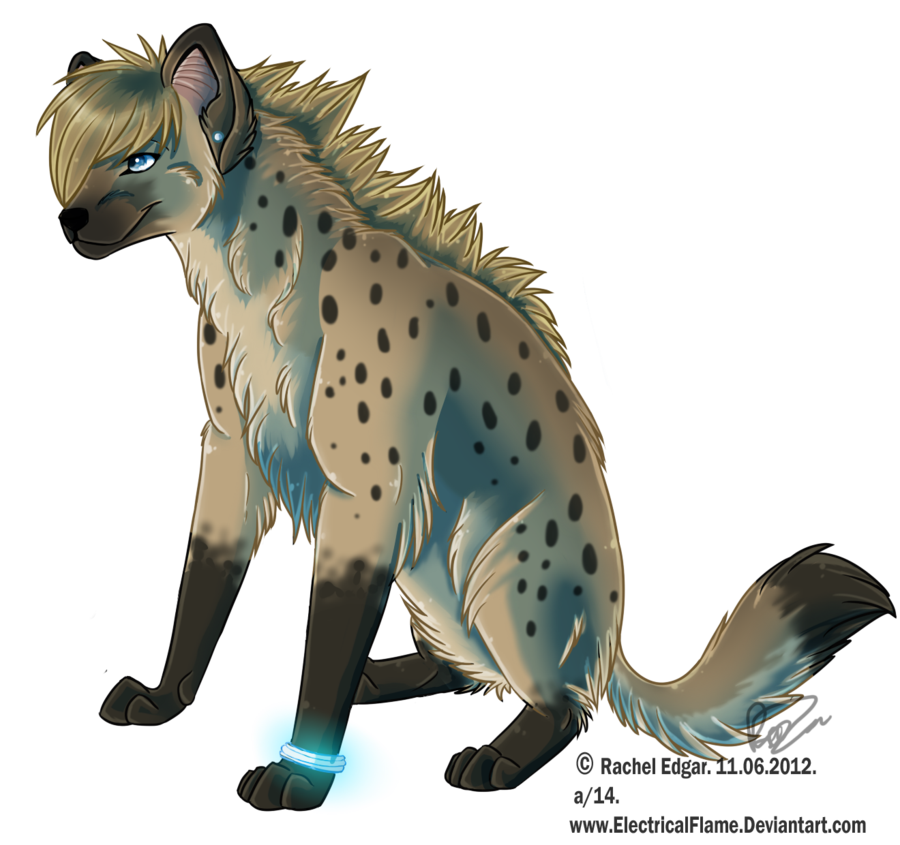 Commission by electricalflame on. Clipart lion hyena
