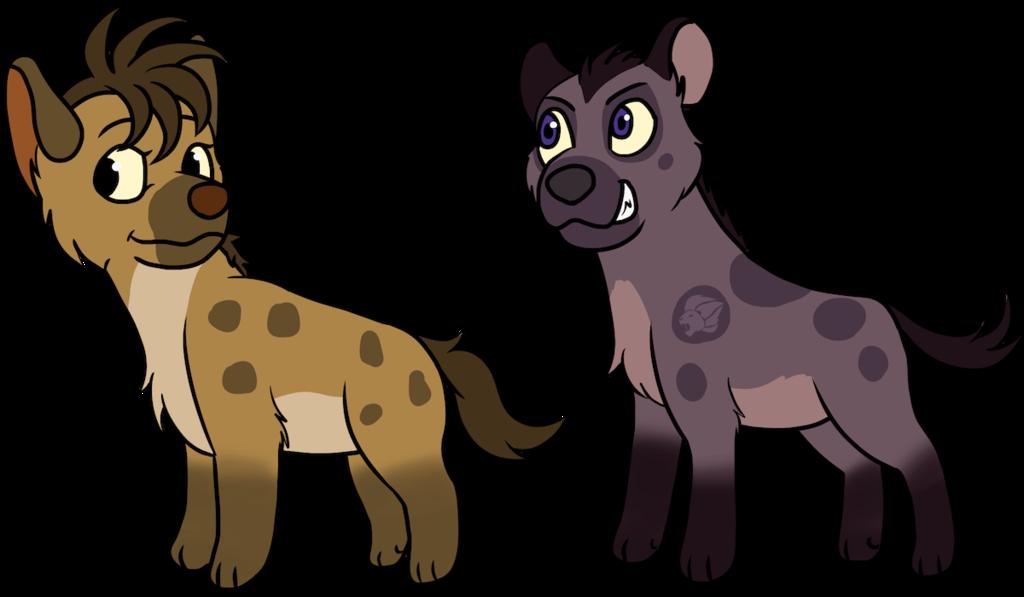 Tlk asante and thabo. Clipart lion hyena