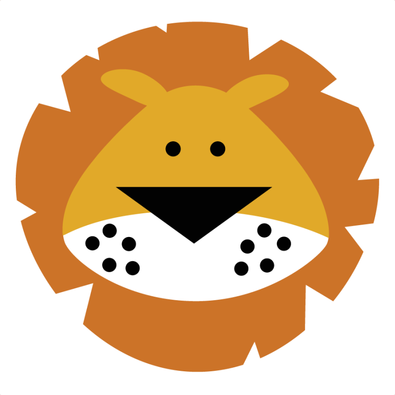 collection of lion. Phone clipart cute