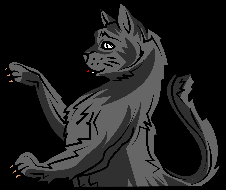 Wildcat clipart bobcat. Myblazon com learn about