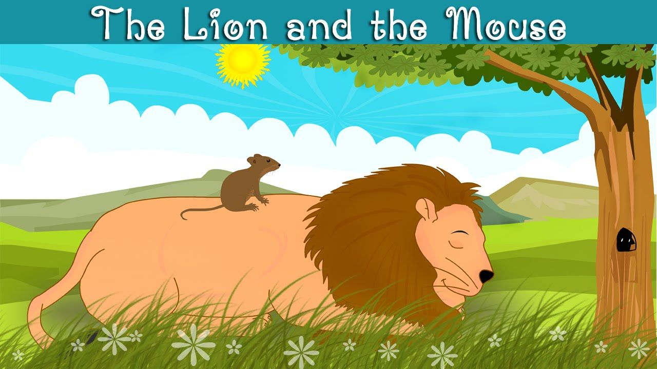 Clipart lion mouse. The and kindergarten moral
