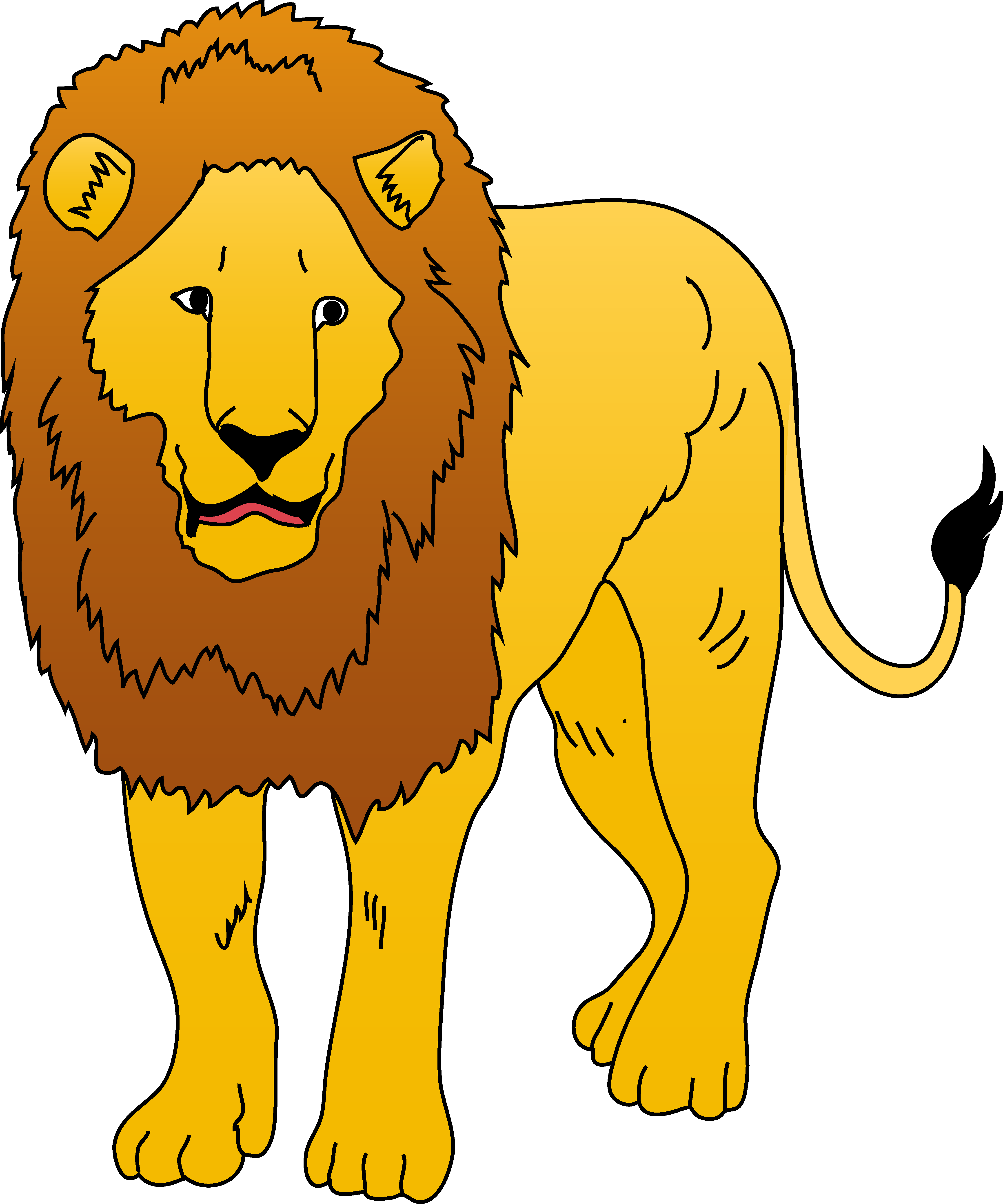 collection of high. Free clipart lion